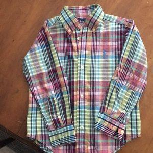 Toddler Ralph Lauren Dress Shirt 3T
